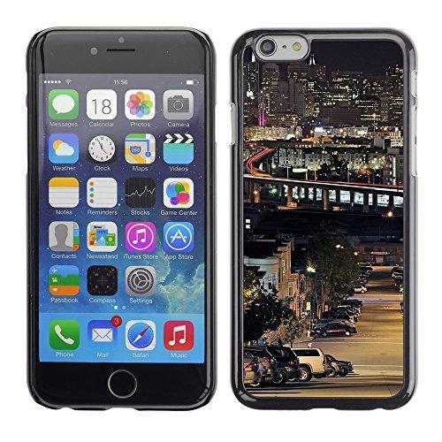 Graphic4You San Francisco Postkarte Ansichtskarte Design Harte Hülle Case Tasche Schutzhülle für Apple iPhone 6 / 6S Design #3