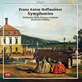 Franz Anton Hoffmeister : Symphonies. Griffiths.