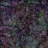 Fabric Freedom Gardine, Kunstseide, violett Vector Design 100% Baumwolle Bali Batik tie dye Muster Stoff für Patchwork, Quilten &,–(Preis pro/Quarter Meter)