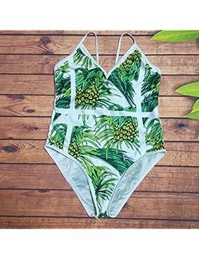Conjuntos de Bikini Sexy adelgazar de una pieza de traje de baño Trajes de Baño caja fuerte digital una pieza...