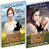 2 Book Special Offer - 10 Brides are on the run, will they find love or does a murderer lurk within their number?  FREE on Kindle Unlimited or $0.99 to own.Book 1: Trust, Doubt, and a New Beginning. The small town of Memphis is desperate for women, s...
