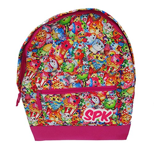 Shopkins Roxy Backpack Kinder-Rucksack, 39 cm, 13 liters, Mehrfarbig (Multicolor)