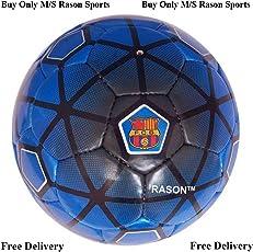 RASON (3 Ply PVC; Size- 5) FCB Barcelona Football