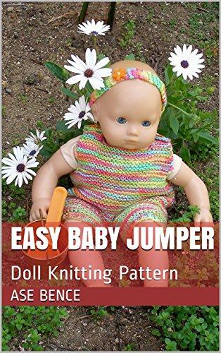 Easy Baby Jumper: Doll Knitting Pattern (English Edition) (American Girl Doll Jumper)