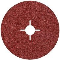 Wolfcraft 2462000-5 discos de lijar para amoladora, grano 60 ø 115 mm