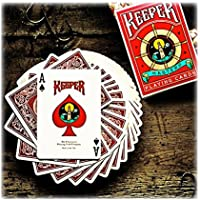 Keeper deck red playing cards - marked