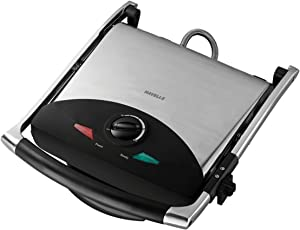 Havells Toastino 2000-Watt Stainless Steel 4 Slice Press Grill Sandwich Maker (Black)