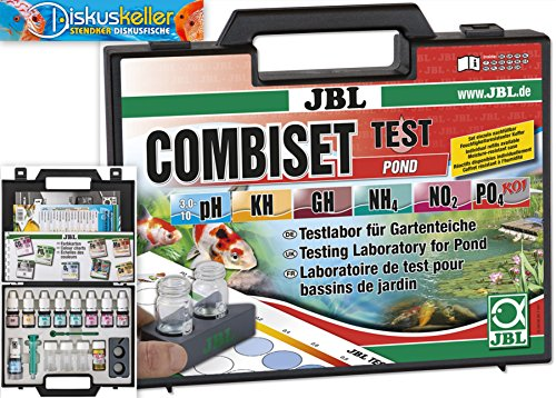 JBL Test Combi Set Pond 28100 Testlabor für Gartenteiche