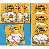 Jolly Phonics Workbooks 1-7: in Precursive Letters (American English edition)