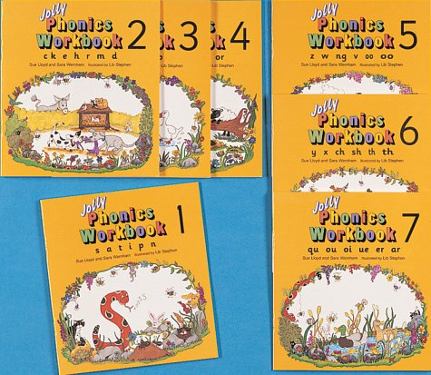 Jolly Phonics Workbooks 1-7: in ...