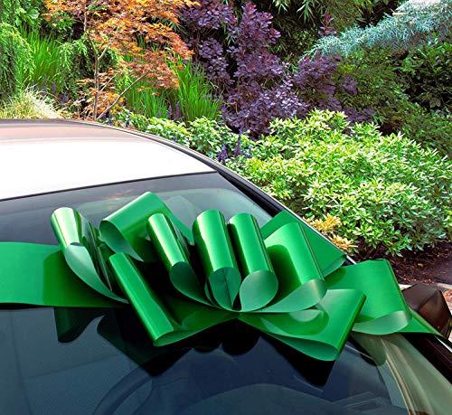 GiftWrap Etc. Gran Arco Coche Verde Esmeralda- Decoración