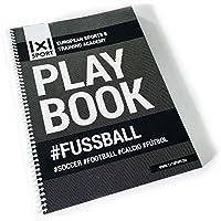 1x1SPORT - Plantillas de juego para entrenadores de fútbol, con planos del campo de juego [podría no estar en español], Playbook A4