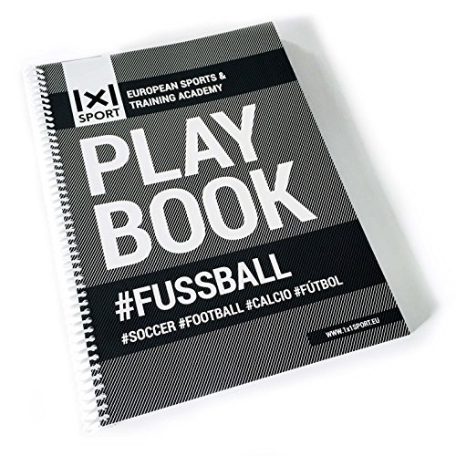 Das extragroße Playbook #FUSSBALL Din-A4