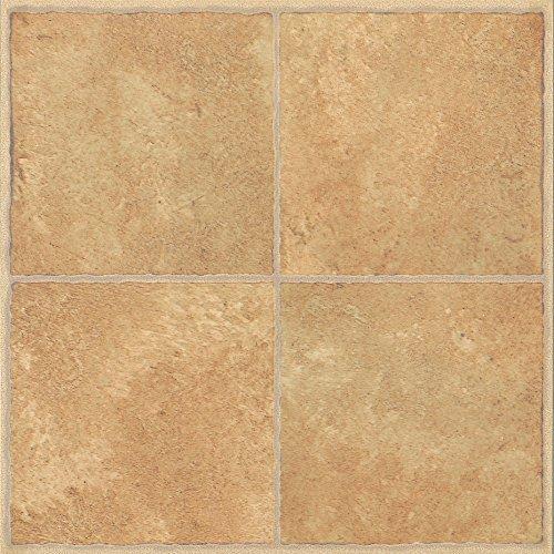 28-x-azulejos-de-suelo-de-vinilo-autoadhesivas-cocina-bano-sticky-marca-nuevo-beige-tradicional-cera