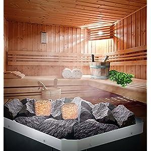 """Salz für die Badstube und die Sauna mit ätherischem Zederöl, Lavendelöl, Zitrusöl oder Apfelsinenöl.Bei der Hitze auf den Steinen verdampft als aromatische """"Dampfwolke"""". (Orangen)"""