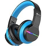 iClever Bluetooth barnhörlurar BTH12 svart