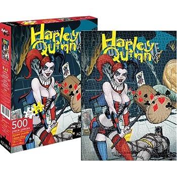 Aquarius DC Comics- Heath Ledger Joker 1,000Pc Puzzle by Aquarius