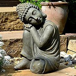 Figura de Buda Para Casa y Jardín - Altura 44cm