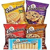 Brand New Grandma's Cookies Variety Tray 36 Ct 2.5 Oz Packs by Grandma's