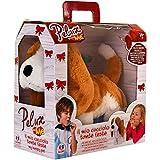PELUX - Perro con Pilas con 2 silbatos anda y Mueve Orejas (Globo 37018)