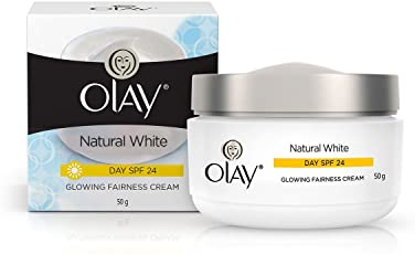 Olay Natural White Glowing Fairness Cream Day SPF 24, 50g