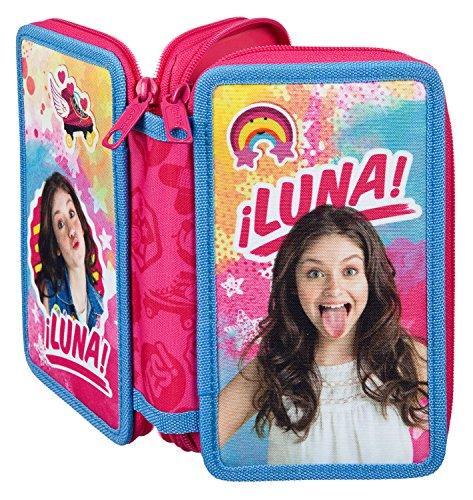 Undercover SORN7804 - Handtasche, Disney Soy Luna, ca. 33 x 23 x 10 cm Doppeldecker Schüleretui