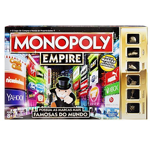 Hasbro Gaming Monopoly–, Set da Tavolo, Motivo Empire Versione Portoghese