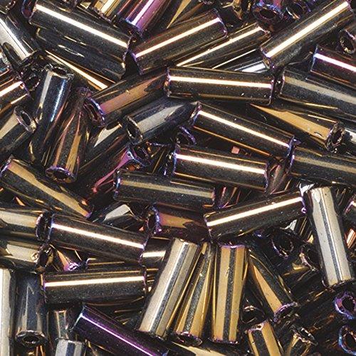 efco-68-x-22-mm-13-g-bugle-perline-arcobaleno-colore-marrone