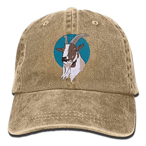 Goat Baseball HatSummer Sun Hat Travel Sunscreen Cap Fishing Outdoors