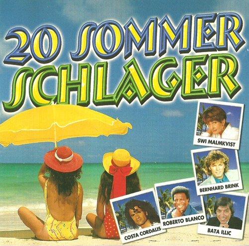 Tolle Schlager für die heissen Tage (Compilation CD, 20 Tracks)