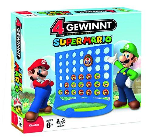 4ganar–Super Mario 42355pequeño, Mika, Juego de estrategia, 18cm