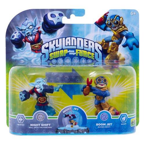 Skylanders Swapforce - Night Shift & Boom Jet - Double Pack