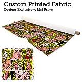 Lichtenstein Design Digital Print 220Gramm Satin