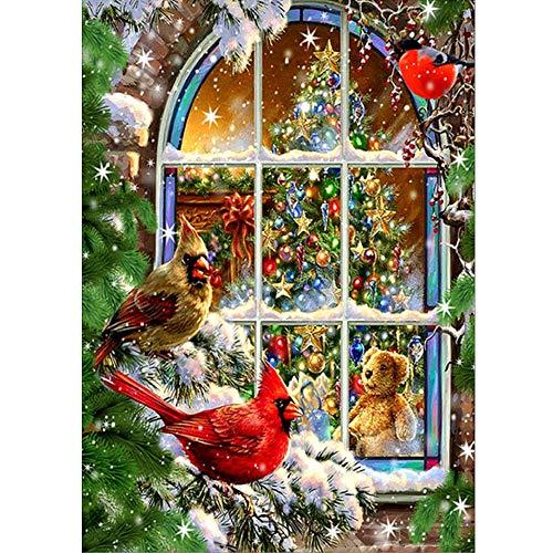 Navidad Pintura Diamante 5d Completo Infantiles Punto