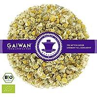 """Núm. 1428: Té de hierbas orgánico""""Flores de manzanilla"""" - hojas sueltas ecológico - 100 g - GAIWAN GERMANY - manzanilla de la agricultura ecológica en Alemania"""