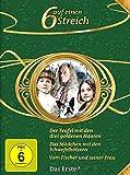 6 auf einen Streich - Märchen-Box Vol. 10: Der Teufel mit den drei goldenen Haaren/Vom Fischer und seiner Frau/Das Mädchen mit den Schwefelhölzern [3 DVDs]