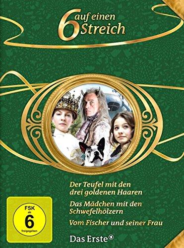 Kostüm Frau Teufel - 6 auf einen Streich - Märchen-Box Vol. 10: Der Teufel mit den drei goldenen Haaren/Vom Fischer und seiner Frau/Das Mädchen mit den Schwefelhölzern [3 DVDs]