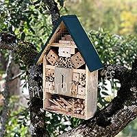 Casetta per insetti in legno naturale e bambù - Anti parassiti e pesticida naturale