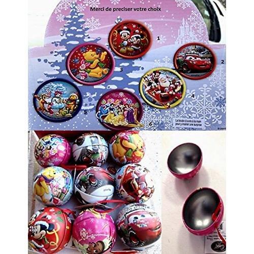 Boule a ouvrir MICKEY Disney - Modèle Aleatoire - Sapin Noel Déco - 643
