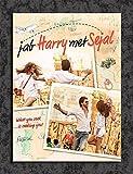 Tamatina Bollywood Actors Wall Poster - Shah Rukh Khan and Anushka Sharma - Jab Harry Met Sejal - Movie - HD Quality Poster