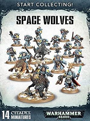 Games Workshop Jeux Atelier 99120101196Commencer à Collectionner l'espace Loups Miniature