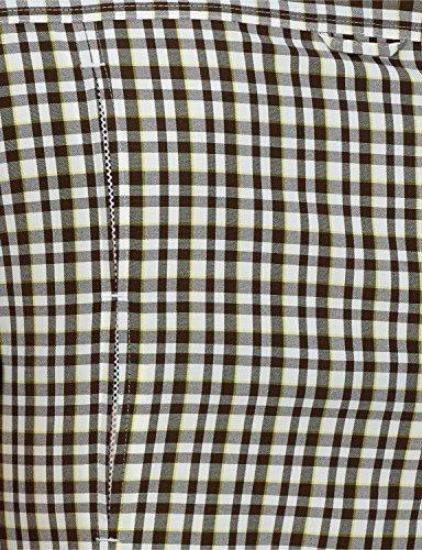 Jack wolfskin chemisier pour femme flaming vent t-shirt w Gris - Siltstone Checks
