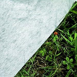 Gre MPROV610 - Tappeto di Protezione per Piscina Fuori Terra 530 x 280 cm, 375 cm o 610 x 500 x 340 cm, Bianco