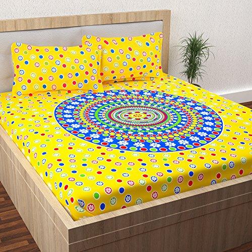 Story@Home 152 TC 100% Cotton Premium Jaipuri Rajasthani Print Vintage Collection 1...