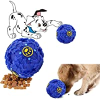 Sage Square Giant Size Musical Cum IQ Treat Dispenser Chew Ball/Bite Resistant/Training Toy for Dog/Puppy/Cat/Kitten (Blue)