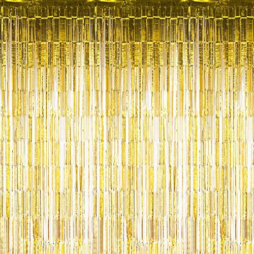 Sunbeauty Fotocall, Cortina Lista Franja Decoración de la Boda Celabr