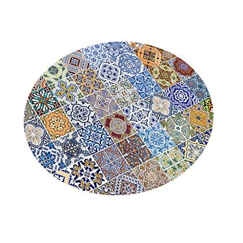 Baoblaze Tischdecke digital Druck Tischwäsche Garten Tischtücher, 140x140cm,viele Farbwahl - 8....