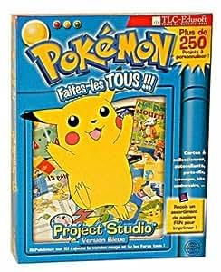 Pokémon project studio : version Bleue - Faites les tous !!