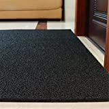 Neuer Stil40*60 cm 60*90 cm Home/Tür Teppich/Kratzen an Land Konsolidierung/Foyer Teppich/Anti-slip Teppiche/Teppichböden im Wohnzimmer/wasserdicht Teppiche/Teppichböden 楼, 40 * 60 cm, schwarz