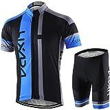 Lixada Heren ademend shirt met korte mouwen MTB fiets kleding korte mouwen